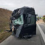 Vollsperrung der A9 bei Triptis nach Unfall mit hohem Sachschaden