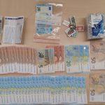 Polizei stellt Falschgeld, Waffen und Drogen nach Verfolgungsjagd in Erfurt sicher