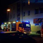 Schwere Brandstiftung vermutet: Starke Rauchentwicklung bei Kellerbrand in Vieselbach