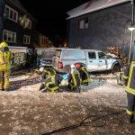 Betrunkener landet in Friseurgeschäft in Schmiedefeld – Haus unbewohnbar