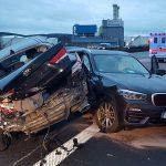 Beim Auffahren einfach nach links gezogen: Unfall auf der A4 bei Gera