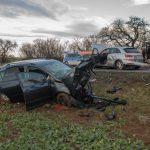 Verkehrsunfall auf der Arnstädter Chaussee bei Erfurt fordert Schwerverletzte