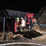 Brand auf Deponie in Friemar: Maschine zerstört - 250.000 Euro Schaden