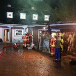 Schwelbrand in Forsthaus an Bleilochtalsperre: Treibjagd-Gäste blieben unverletzt