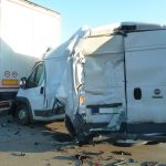 Unfall auf A9 bei Hermsdorf und schwerer Crash am Stauende