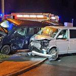 Vorfahrt missachtet: Drei verletzte Personen nach Unfall in Ilmenau