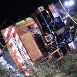 Winterdienst verunglückt im Saale-Holzland-Kreis – Fahrer alkoholisiert