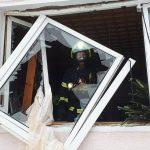 Explosion in einem Mehrfamilienhaus in Wurzbach im Saale-Orla-Kreis