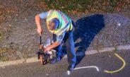 Radfahrerin stirbt nach Unfall auf gesperrter Straße in Schleusingen