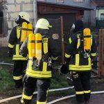 Bewohner nach Brand in Wohnhaus im Landkreis Nordhausen verletzt