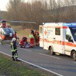 Überholvorgang missglückt? Sechs teils schwer Verletzte im Unstrut-Hainich-Kreis