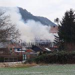 Dachstuhl in Jena abgebrannt: Auch Rest des Hauses durch Flammen zerstört