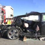 Hondafahrer nach Verkehrsunfall auf A4 bei Ronneburg schwer verletzt