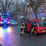 In Blankenhain übersehen: Ford kracht Citroen mit Wucht in die Seite
