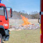 Meterhohe Flammen: Blinder-Alarm auf der Crossstrecke in Blankenhain