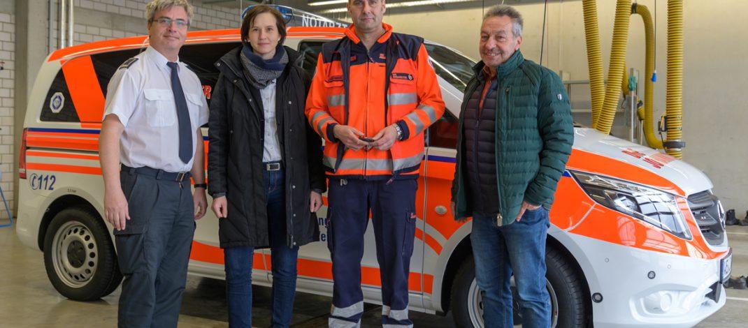 Johanniter-Unfall-Hilfe in Weimar stellt neues Notarzteinsatzfahrzeug in Dienst