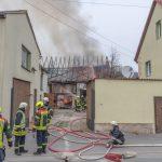 Zu spät erkannt: Scheune und zwei Garagen im Weimarer Land abgebrannt