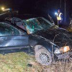 Mann wird bei Unfall im Weimarer Land aus dem Auto geschleudert