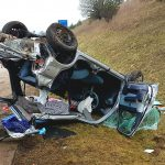 Junge Frau bei Unfall auf der A71 nahe Arnstadt schwer verletzt