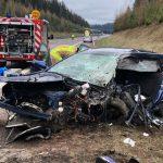 Geisterfahrer erfasst Auto auf A73 bei Schleusingen - Frau stirbt