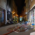 Brand eines Gebäudekomplexes in Eisenach - Zeugen gesucht