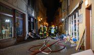 Brand eines Gebäudekomplexes in Eisenach – Zeugen gesucht