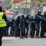 Terrorübung der Polizei in ehemaliger Flüchtlingsunterkunft Eisenberg