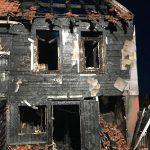 Wohnhaus in Gehren durch Brand zerstört und derzeit unbewohnbar