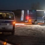 Fund einer Babyleiche im Ilm-Kreis - Kriminalpolizei im Einsatz