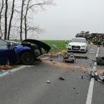 Schwerer Unfall im Landkreis Greiz: Vier Fahrzeuge beteiligt und lange Sperrung