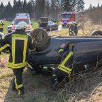Fahranfänger fährt in Gegenverkehr: Schwerer Unfall bei Blankenhain
