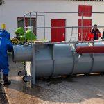 Übungstag: Gefahrgutzug trainiert bei der Berufsfeuerwehr Gotha