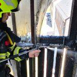 Gemeldeter Dachstuhlbrand in Wurzbach endet glimpflich – Nachbar reagierte sofort