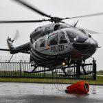 Innenminister übergibt neuen Polizeihubschrauber am Erfurter Flughafen