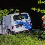 Polizei sucht flüchtige Einbrecher in Erfurt: Auto später in Unfall verwickelt