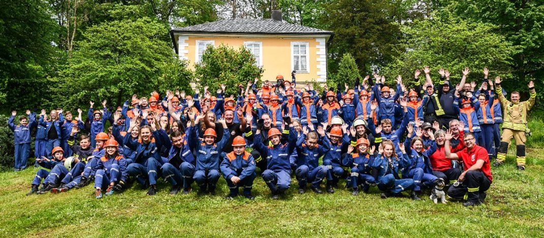 25. Jugendleistungsmarsch der Jugendwehren des Landkreises Hildburghausen