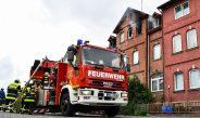Feuerwehr Sonneberg zur Unterstützung zum Brand in Neustadt bei Coburg