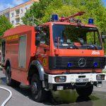 Backofen brennt: Feuerwehreinsatz in Weimar-Schöndorf