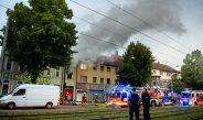 1-Raum-Wohnung brennt in Erfurt komplett aus