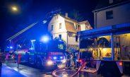 Küchenbrand in Rudolstadt ruft zahlreiche Feuerwehren auf den Plan