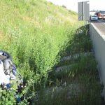 Motorradfahrer bei Unfall auf A4 zwischen Magdala und Bucha schwer verletzt