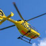 Motorradfahrer bei Buttelstedt schwer verletzt - Rettungshubschrauber im Einsatz