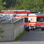 Verpuffung mit Brandfolge in Recyclingfirma im Kyffhäuserkreis - Kripo nimmt Arbeit auf