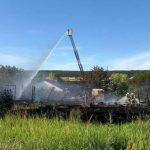 Jugendlicher hat gezündelt: Ehemalige Disko in Roßleben abgebrannt