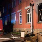Asylbewerber legt Feuer: BMA löst aus - Großeinsatz in Rudolstadt