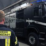 Kameraden üben Tunnelbrandbekämpfung unter Realbedingungen in der Schweiz