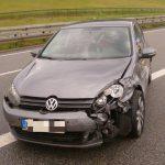Zu schnell bei Starkregen: Unfall auf der A38 bei Sollstedt