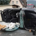 Auto überschlagt sich im Landkreis Sonneberg - Frau schwer verletzt