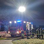 Fremdfirma hat geflext: Sachschaden nach Brand in Apoldaer Werkhalle immens