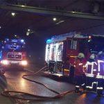 Brand auf A4 im Jagdbergtunnel: Südröhre rund vier Stunden voll gesperrt